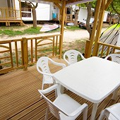 Location vacances Mobil Home 32 m² Hyeres Giens